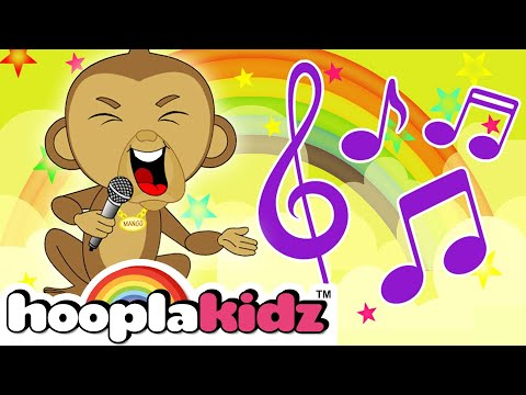 If You're Happy And You Know It | Kids Songs For Toddlers Dancing and Singing by HooplaKidz