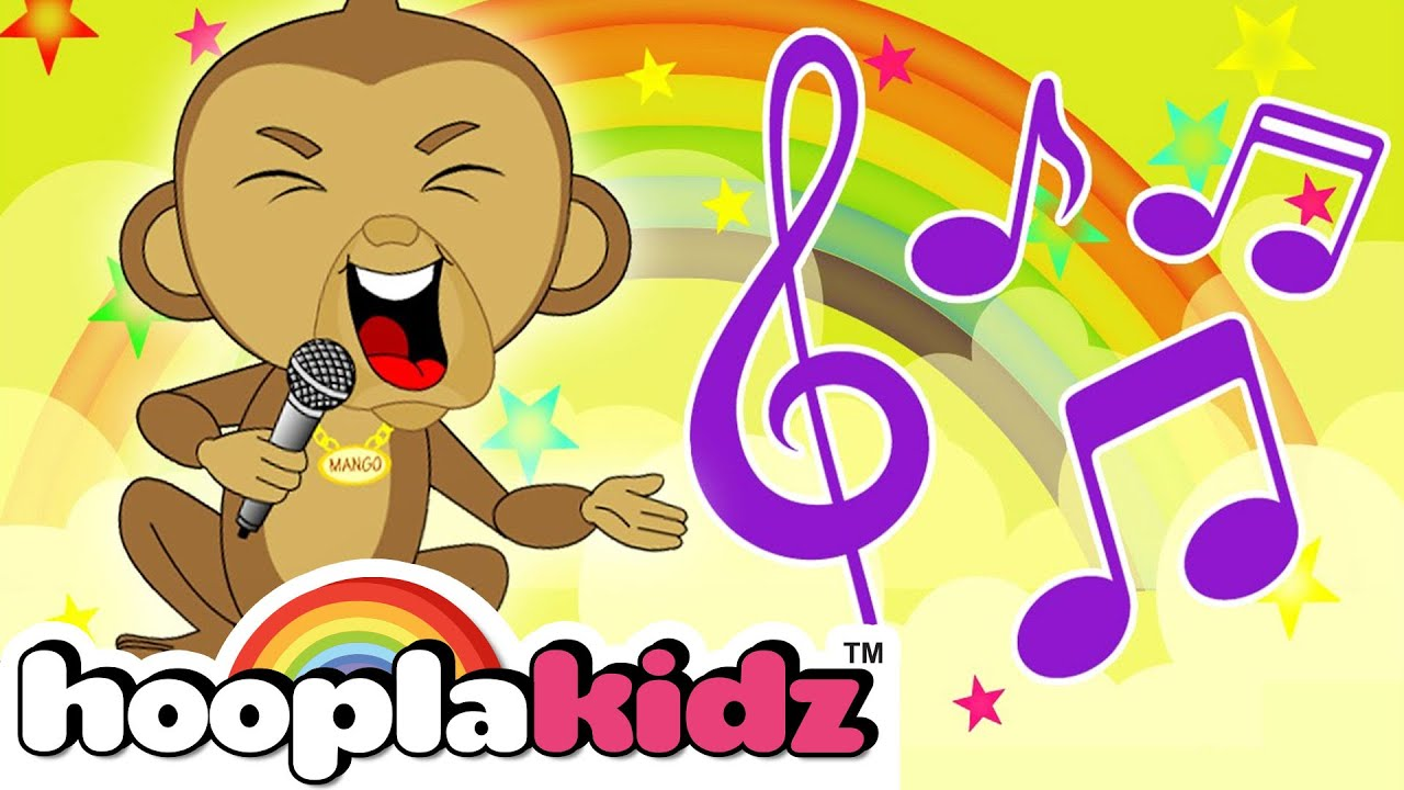 If Youre Happy And You Know It Kids Songs For Toddlers Dancing And Singing By Hooplakidz Youtube