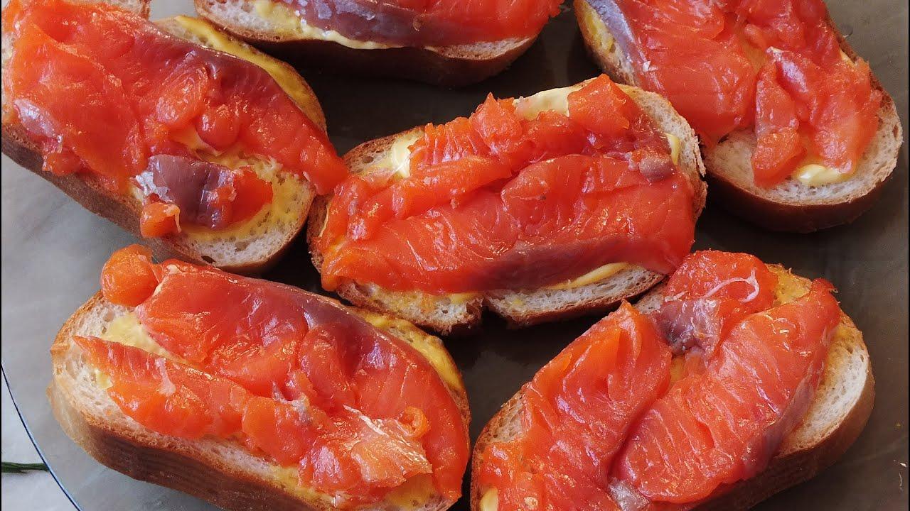 простой способ как засолить красную рыбу форель семгу лосось горбуша вкусно и просто