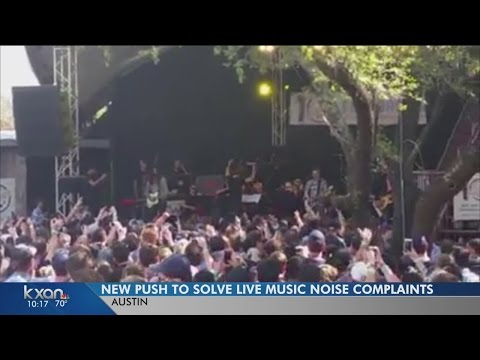 Austin aims to solve live music noise complaints with new policy