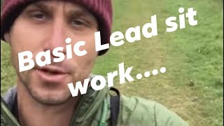 Working spaniel basic lead and sit training for spaniels. Vlog2