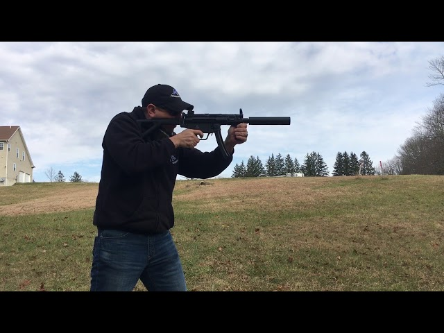 Zenith Z5p suppressed machine gun