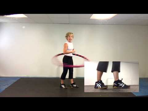 WEIGHTED HULA HOOP FOR BEGINNER TECHNIQUES