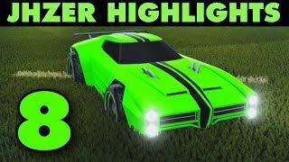 JHZER Highlights 8 | Competitive Rocket League Goals Montage
