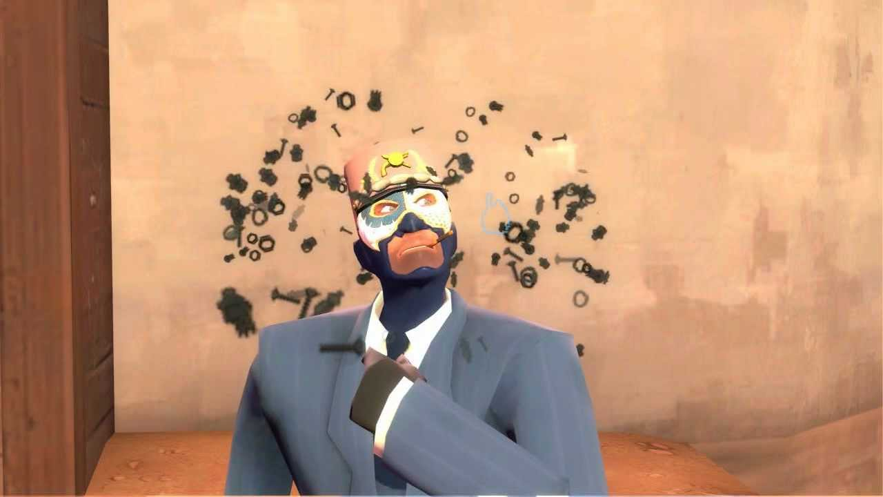 TF2 Unusual Combo - Triple Nuts and Bolts - HD - YouTube