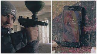 Сделал щербет из смартфона и расстрелял его. Обзор и краш-тест Nomu S20.