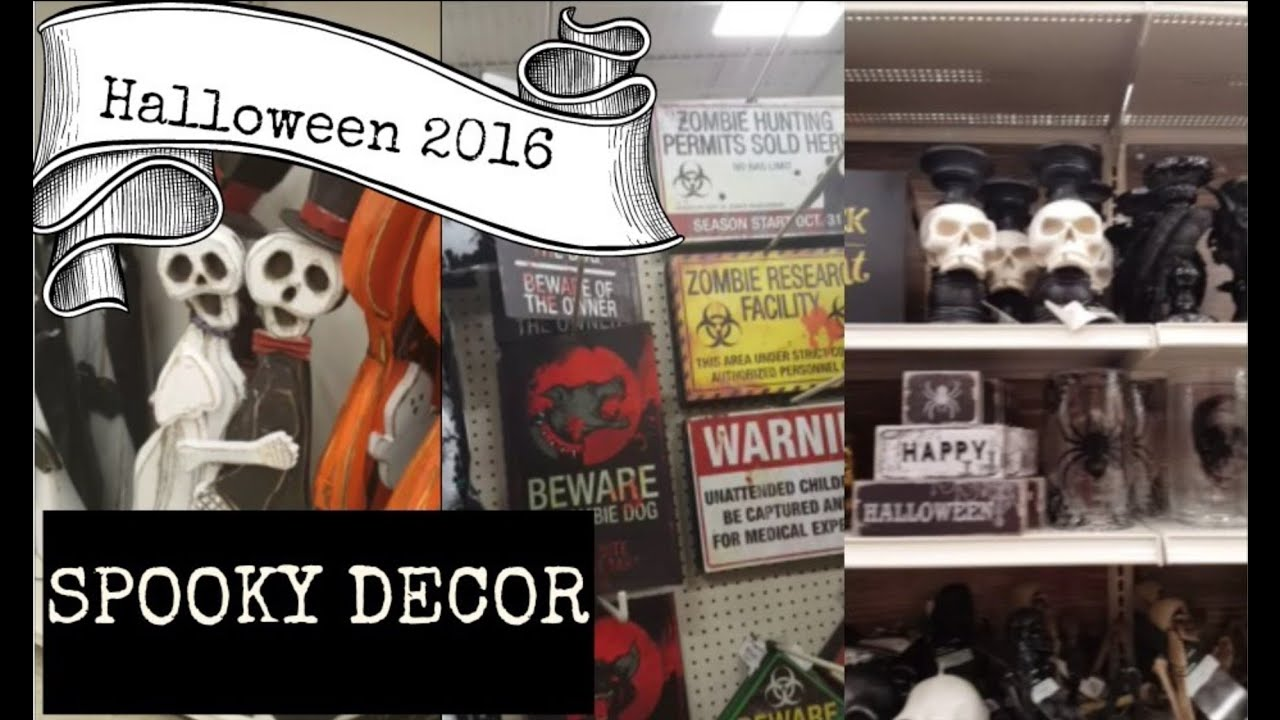halloween decorations 2016 michaels gordmans at home youtube - Michaels Halloween Decorations