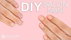 Salon Mani at Home  DIY Manicure Routine  Dip Powder Application