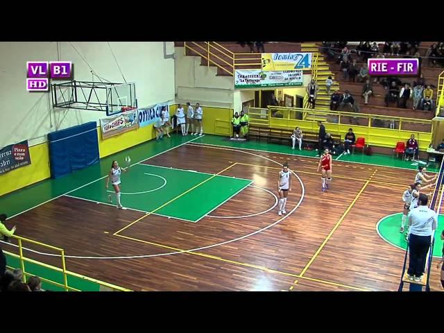 Fortitudo Rieti vs S. Michele Firenze - 5° Set