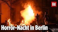 Eine Randale-Nacht in Berlin