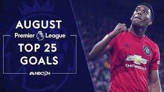 Top 25 Premier League goals of August 2019 | NBC Sports YouTube Videos