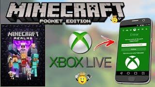 ⭐️Como fazer Conta Xbox Live no Minecraft PE