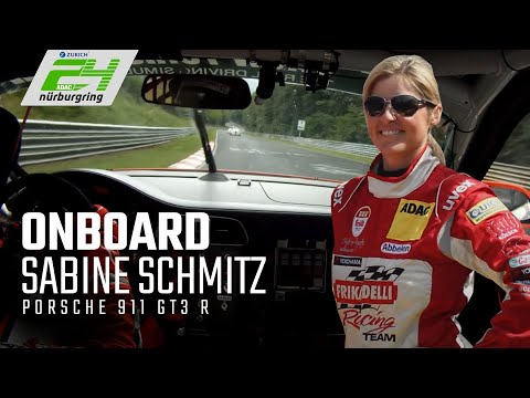 Sabine Schmitz   Porsche 911 GT3 R   Onboard   Frikadelli Racing Team   VLN 2014