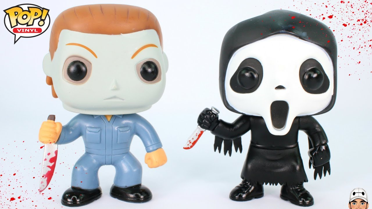 Michael Myers Amp Ghost Face Funko Pop Vinyl Figure Review