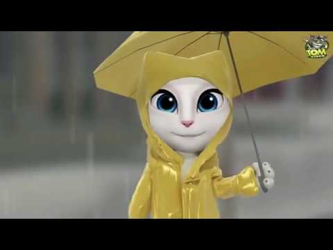 Cham Cham Video Song  BAAGHI Talking Tom And Angela Version