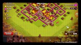 (Clash Of Clans)Ataques Com Dgs E Rei Barbaro