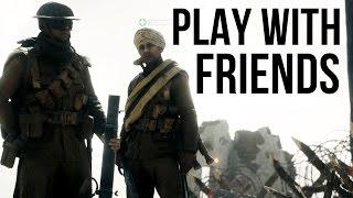 كيف تلعب المعركة 1 مع الأصدقاء