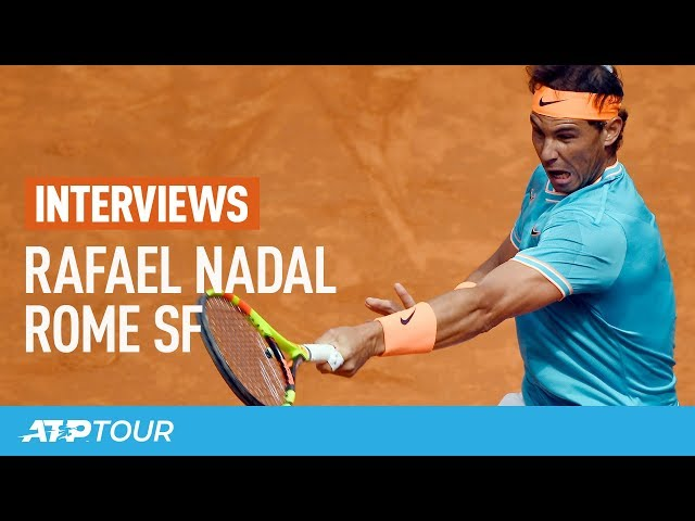 Nadal After Tsitsipas Win In Rome: 'Finally I Won A Semi-final!'