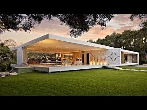 Impressive Modernist Glass-Walled Luxury Residence in Montecito, CA, USA (by Steve Hermann