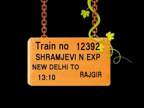 TRAIN NO 12392 TRAIN NAME SHRAMJEVI N EXP NEW DELHI GHAZIABAD MORADABAD