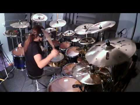 Muse - Hysteria (Drum Cover by Panos Geo)