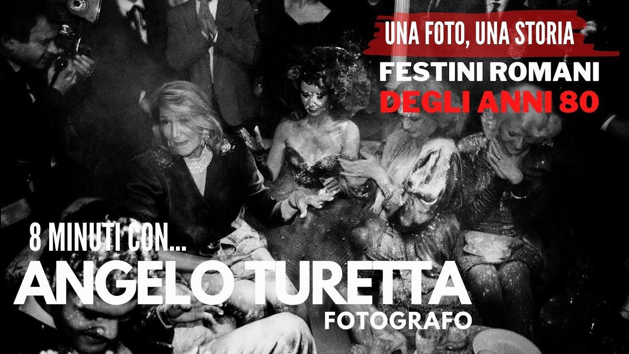 FESTINI ROMANI degli anni 80, 8 minuti con il fotografo ANGELO TURETTA
