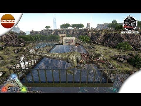 Αναβάθμιση βάσης και tame νέου Γιγανοτόσαυρου. ARK Extinction Core E14 (Greek gameplay)
