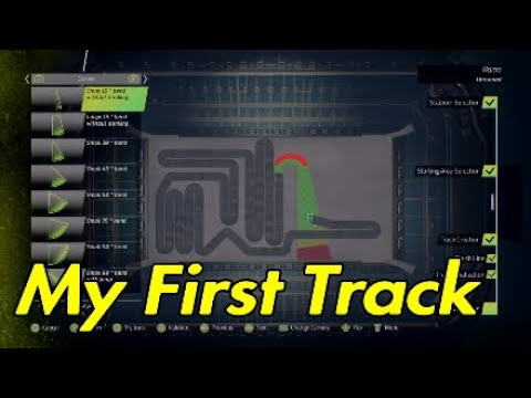Monster Energy Supercross track editor.My first track + Laps