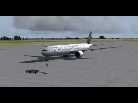 FSX/P3D [IVAO] VOBL- VABB Air India Star Alliance livery