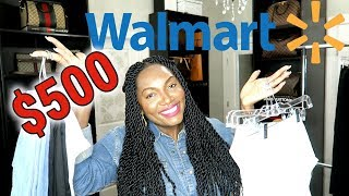 I SPENT $500 AT WALMART | TRY ON HAUL thumbnail