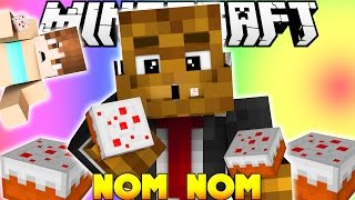 Minecraft Hunger Games - EAT ALL THE CAKE