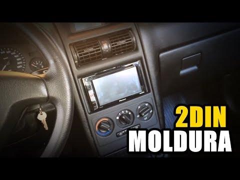 Chevrolet Astra - Como Montar Moldura DVD 2Din - Ar Analógico | GM, Opel, Vauxhall