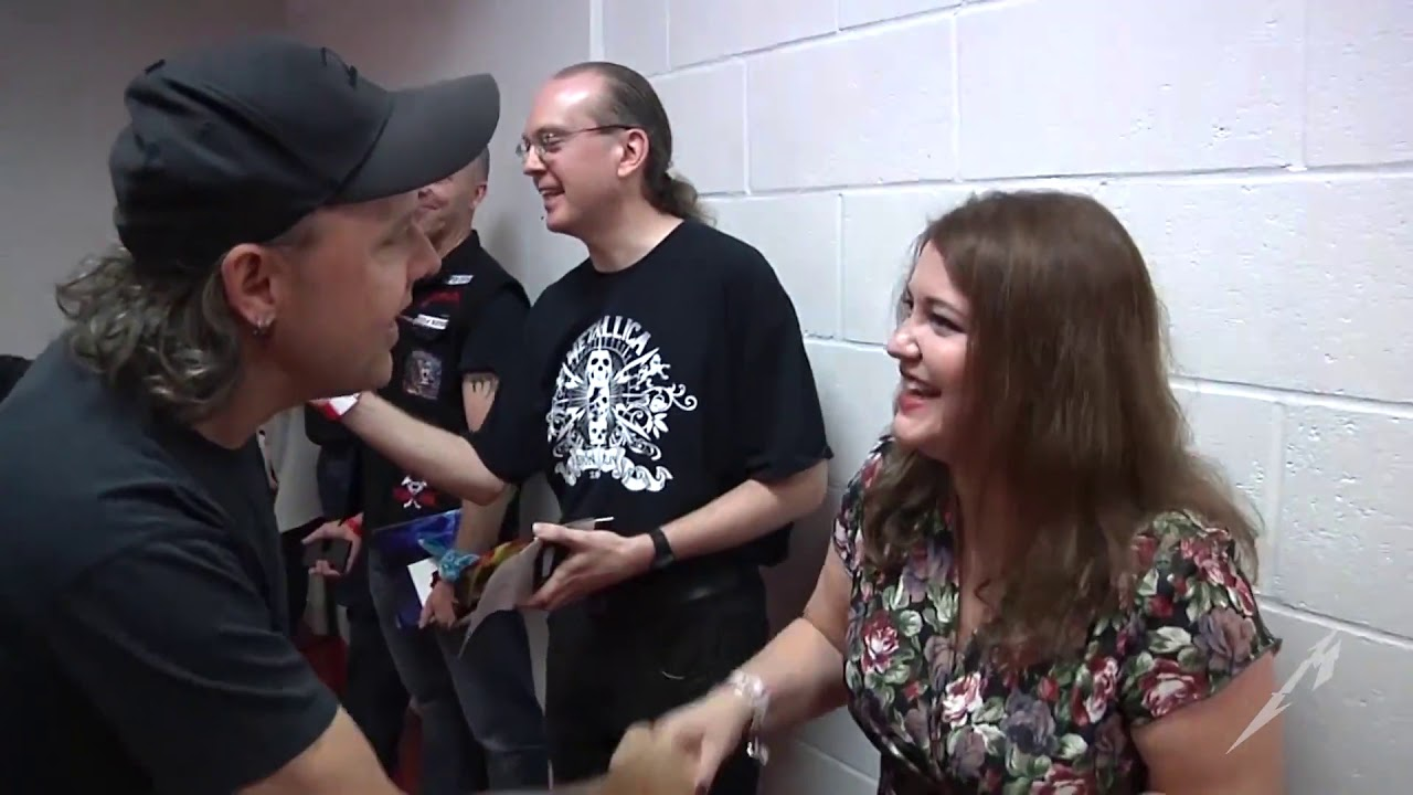 Metallica Meet Greet London Glasgow Manchester Birmingham