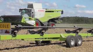HD| Moisson tournesol/Sunflower Harvest 2015 Lexion 740
