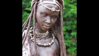Tuto statuette Africaine powertex DIY