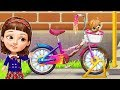 Sweet Baby Girl Cleanup 6 | Fun School and Bicycle Cleaning Game for Kids