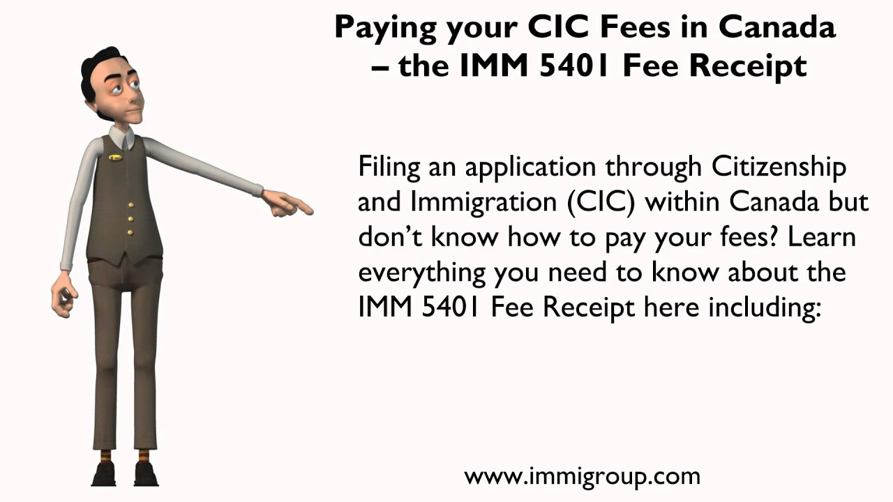 how to pay fees cic