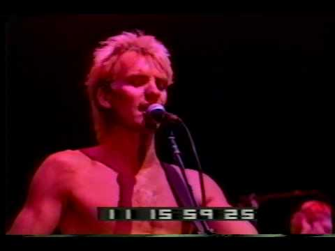 The Police  Murder By Numbers  Live in Oakland 10th sept 1983  RARE VIDEO!!!