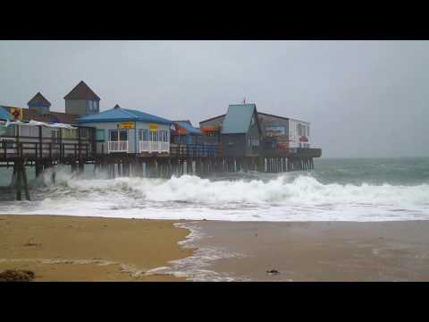 Nor'easter at the Old Orchard Beach Pier | March 2, 2018