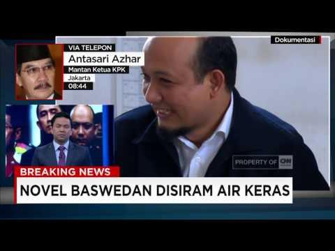 Breaking News! Novel Baswedan Disiram Air Keras - Penyidik E-KTP dari KPK
