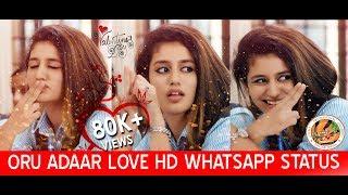 Priya Prakash Varrier | Oru Adaar Love Teaser Whatsapp Status Valentines day