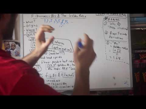 102. Fibonacci Numbers & The Golden Ratio (Math in Nature & Art - Part 6)