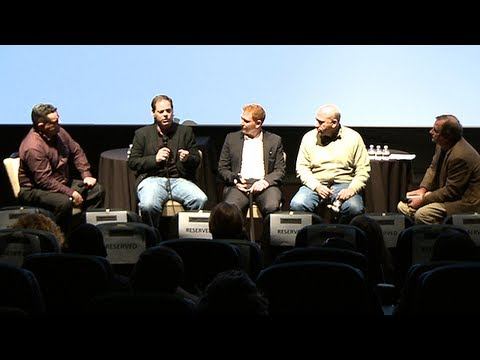 Hollywood Moguls Panel 2012 Oscars at Deadline Hollywood Presents: The Contenders