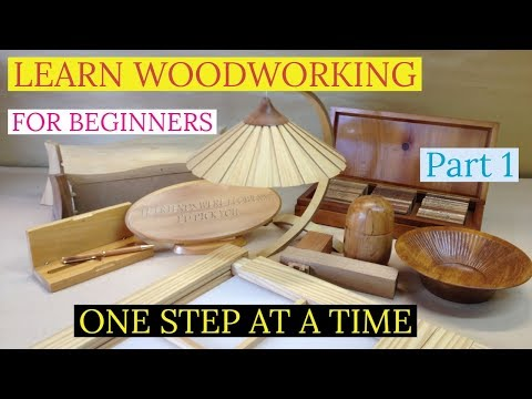 Be taught Woodworking for newbies Half 1