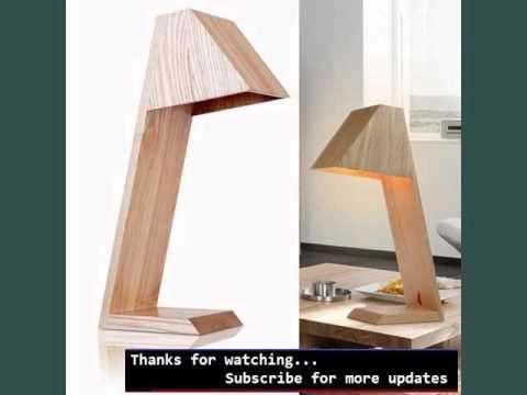 Wood, Contemporary Table Lamps Collection| Modern Wood Table Lamps