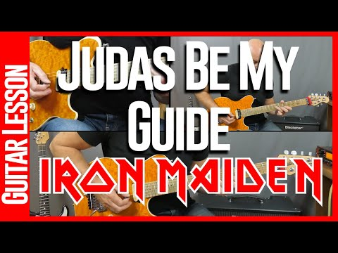 Judas Be My Guide By Iron Maiden - Guitar Lesson