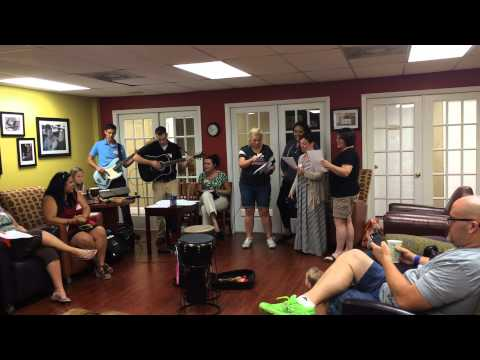 Music therapy at the Children's Cancer Center!