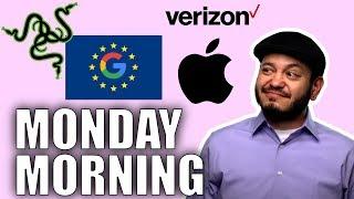 #SGGQA 067: Monday Morning - Verizon SIM Locks, Apple Right to Repair, Google and the EU