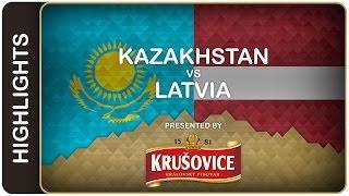 Latvians still alive for the quarter-finals | Kazakhstan-Latvia HL | #IIHFWorlds 2016