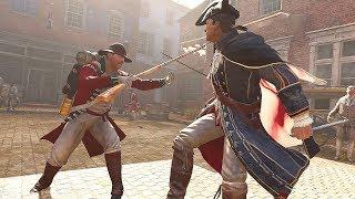 Assassin's Creed 3 Remastered Grand Master Templar Brutal Combat & Free Roam Gameplay